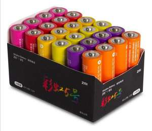Алкалиновые батарейки AA Xiaomi ZMI Rainbow ZI5 24шт. Или AAA ZI7 24шт AA. Или комплект AA ZI5 12 шт + AAA ZI7 12 шт.