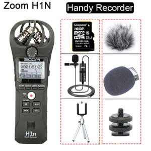 Портативный рекондер - накамерный микрофон ZOOM H1N