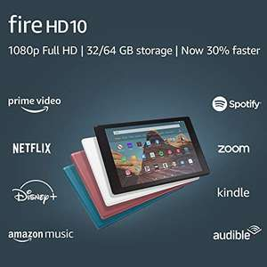 "Планшет Amazon Fire HD 10 Tablet (10.1"" 1080p full HD display, 32 GB). Нет прямой доставки."