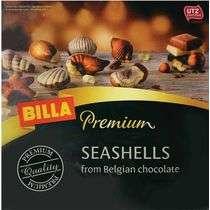 [МСК] Шоколадные конфеты Billa Premium Ракушки 125 гр