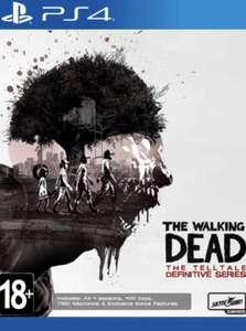 [PS4] Распродажа игр в s-centres (напр. The Walking Dead: The Telltale Definitive Series)