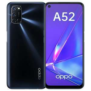 Смартфон OPPO A52 4/64GB (Black/White)