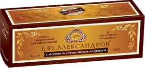Сырок Б.Ю.Александров сгущенное молоко; ваниль в молочном шоколаде 26/5%, 50 г