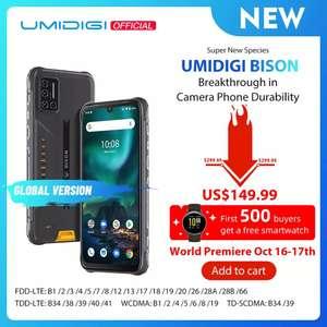 Смартфон UMIDIGI BISON, 6/128 Гб, водонепроницаемый