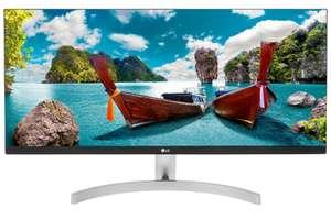 """Широкоформатный монитор 29"""" LG 29WN600-W (IPS, 2560x1080, 75 Гц, sRGB 99%, динамики)"""