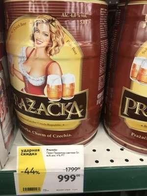 [СПБ] Пиво PRAZACKA бочонок 5л