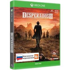[Xbox One] игра THQ Nordic Desperados III Стандартное издание