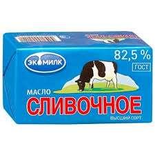 [Саранск] Ашан.Сливочное масло Экомилк 82,5% 450гр