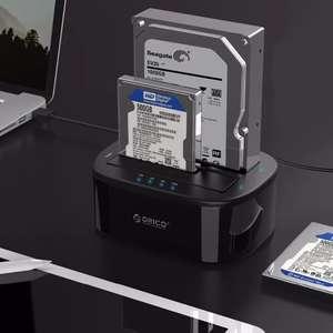 Док-станция Orico 6228US3-C-BK для 2.5/3.5 дюймов HDD/SSD/