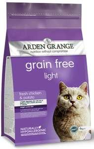 Корм Arden Grange Light для кошек диетический с добавлением клюквы