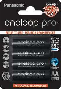 Аккумулятор Panasonic Eneloop PRO 2500 мАч 4 шт.