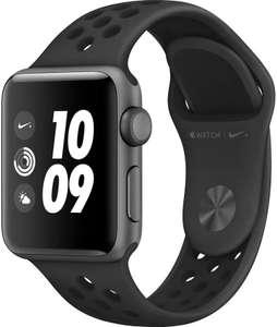 Apple Watch Nike+ Series 3 38 мм серый космос