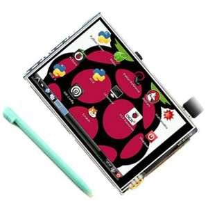 3.5 Дюймовый дисплей для Raspberry Pi 3B с тачскрином + стилус