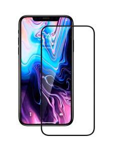 Защитное стекло Premium для Apple iPhone iPhone XS Max/11 Pro Max с полным покрытием, прозрачное