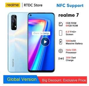 Смартфон Realme 7 NFC 6,5' FHD глобальная версия 6 + 64 Гб