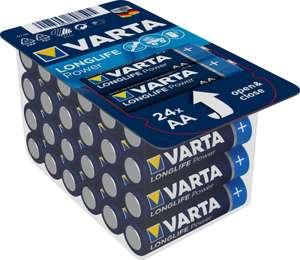 [Астрахань] Батарейки VARTA Longlife Power 48 шт. AA и AAA