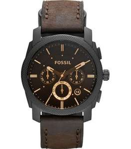 Часы Fossil Machine FS4656 с хронографом