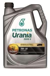 Моторное масло PETRONAS URANIA 3000 E 5W-30 синтетическое 5 л. (для промышленных и коммерческих автомобилей с дизельным двигателем)