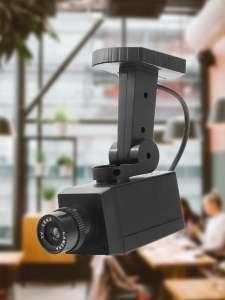 Муляж камеры видеонаблюдения с мигающим светодиодом ELOUGH