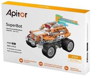 Программируемый конструктор робот Apitor SuperBot 19 в 1 (с сенсорами и датчиками) совместим с лего