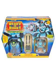 Игрушка MGA Ready2robot набор «2 капсулы + оружие» Сркрушитель