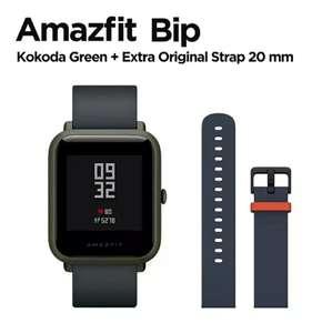 Умные часы Amazfit Bip (c GPS) + ремешок