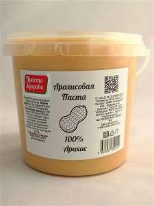"""Арахисовая паста """"Просто Здорово"""" 100% арахис 1000 г"""