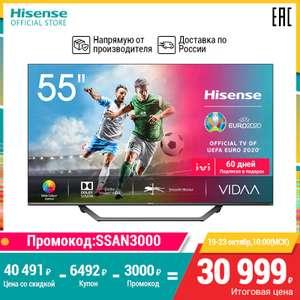 Hisense 55ae7400f 4K UHD Smart TV 55 дюймов