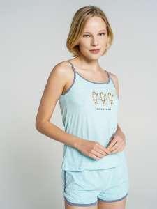 """Скидки на женские пижамы """"Твоё"""", напр. комплект майка + шорты"""