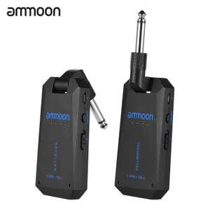 Беспроводной аудио передатчик и приемник для гитары