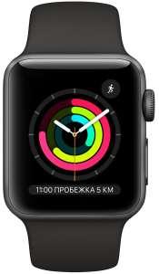 Умные часы Apple Watch Series 3 GPS, 38mm Space Grey