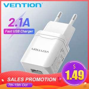 Vention USB зарядное устройство 5V 2.1A