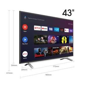 Телевизор TOSHIBA 43L5069 FHD SmartTV