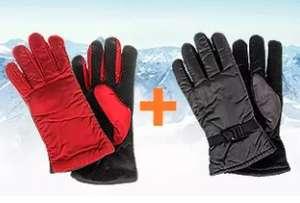 2 по цене 1 на горнолыжные перчатки