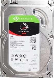 [Не все города] Внутренний жесткий диск Seagate IronWolf 2TB (ST2000VN004)