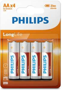 Батарейки Philips LongLife АА уп. 48 шт