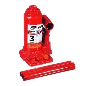 Домкрат гидравлический бутылочный FALCO 3 т высота подъема 158-308мм