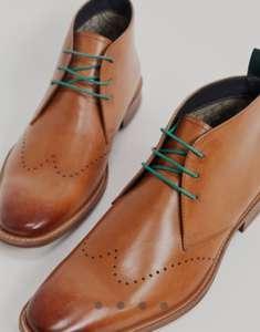 -20% на аутлет (напр. светло-коричневые кожаные строгие ботинки со шнуровкой Silver Street со скидкой 44%+20%)