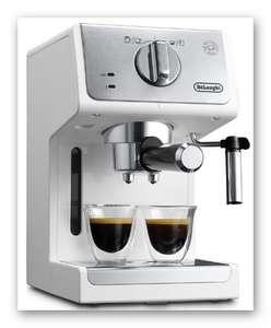 Delonghi Рожковая кофеварка Delonghi ECP 33.21 (при добавлении в корзину)