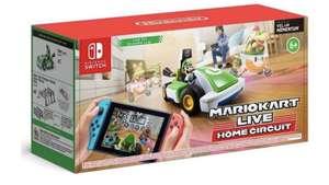[Nintendo Switch] Игра Mario Kart Live: Home Circuit набор Luigi