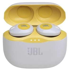 Беспроводные наушники JBL Tune 120TWS, желтый