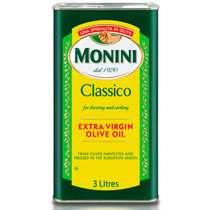 Оливковое масло Monini Extra Virgin, 3 л.