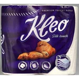 Туалетная бумага Kleo silk touch 4х-слойная 4шт