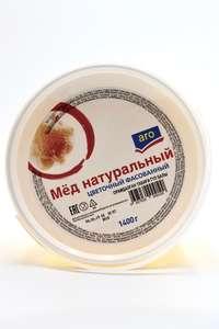Мед натуральный цветочный ARO 1,4кг