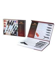 Набор кухоных ножей 6 предметов из нержавеющей стали Zillinger