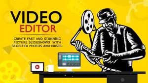 Video Maker with Music & Video Editor