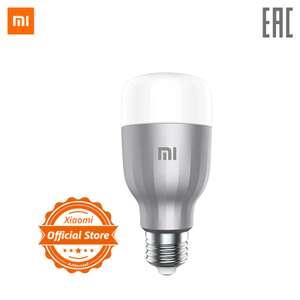 Умная лампочка Xiaomi Mi LED Smart Bulb, E27, 10Вт