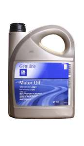 Моторное масло General Motors Dexos2 Longlife 5w30 5л