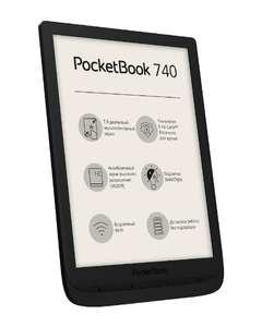 Скидка 24% на весь ассортимент электронных книг и 41% на чехлы Pocketbook. Например Pocketbook 740.