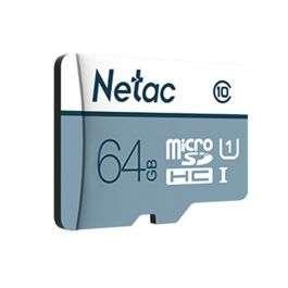 Карта памяти MicroSD Netac P500 64GB